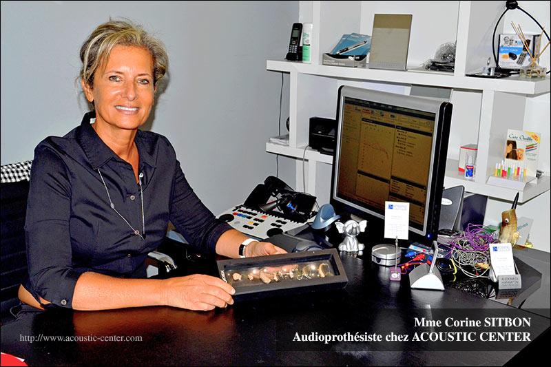 Corine Sitbon : Audioprothésiste