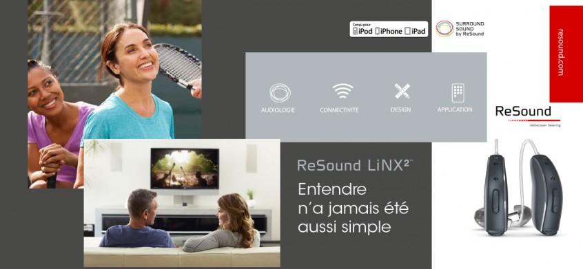 resound linx 2 entendre n a jamais t aussi simple acoustic center. Black Bedroom Furniture Sets. Home Design Ideas